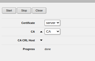 Mikrotik - add server certificate