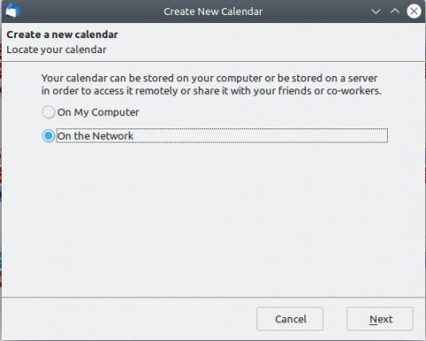 Thunderbird Linux Add Exchange calendar