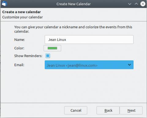 Thunderbird Linux Settings Exchange Calendar