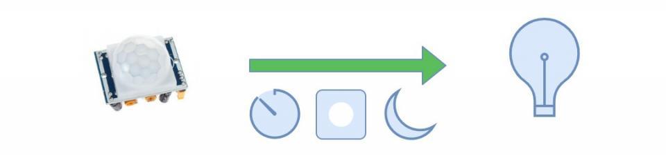 Arduino PIR - možnost deaktivace, časovač a denní doba