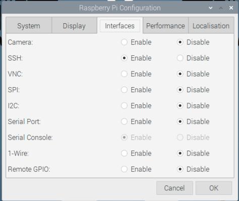 Raspberry Pi - LXDE - Settings