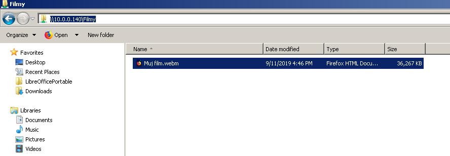 Pi-NAS - Load a shared folder