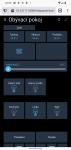 Pi-Home - uživatelske rozhraní -  smartphone